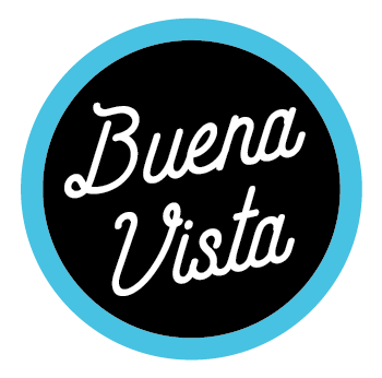 Buena Vista Script Sticker
