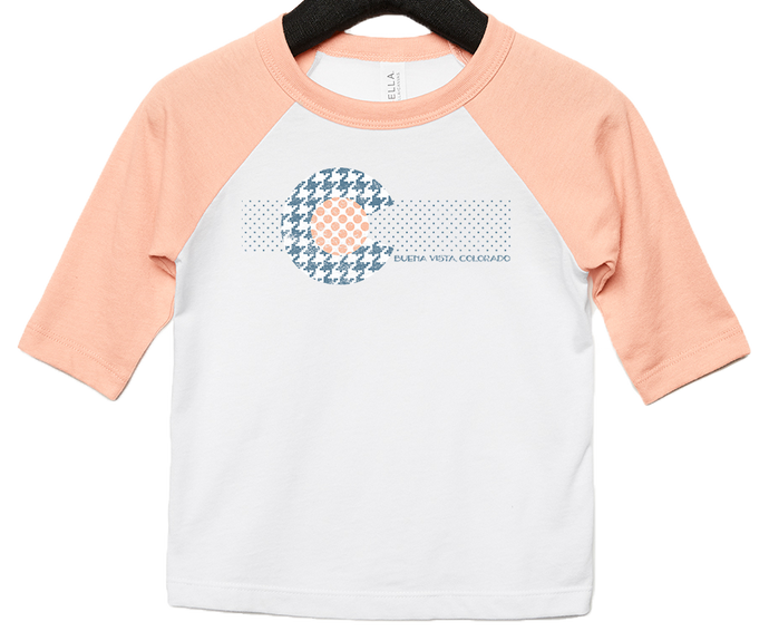 Houndstooth Colorado Toddler Tee