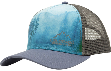 Sublimated Mountains Trucker Hat