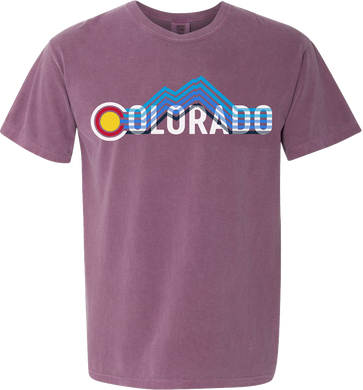 Colorado Stripe Tee