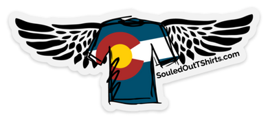 CO Souled Out Logo Sticker