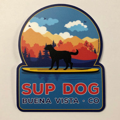 Sup Dog Sticker