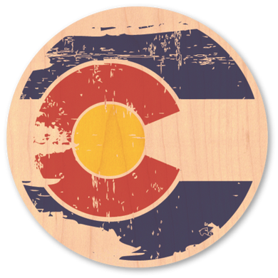 Tattered Colorado Sticker