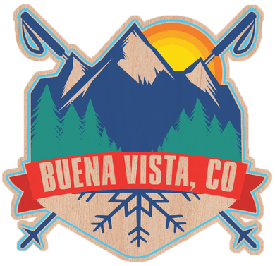 Colorado Mountain Scene Sticker
