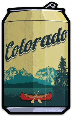Colorado Beer Sticker