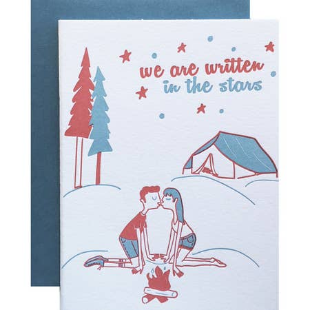 Kissing Campers Card