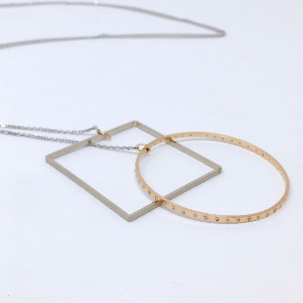 Vitruvian lasso necklace