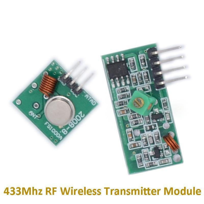 (10pcs) 433Mhz Wireless RF transmitter and receiver Link kit (5Pair) for Arduino/ARM/MCU WL