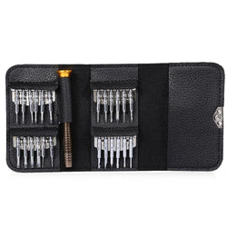 25 in 1 Precision Torx Screwdriver Wallet Repair Tool Set for Laptop Cellphone Electronics Device