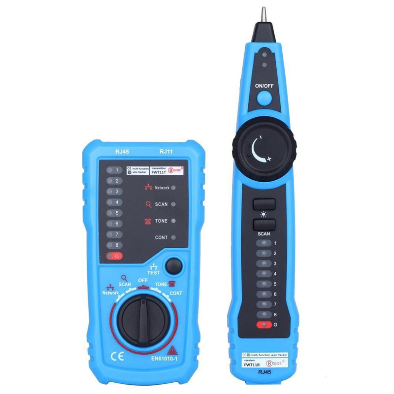 Network Telephone Cable Tester BSIDE FWT11 Handheld RJ45 RJ11 Wire line Tracker