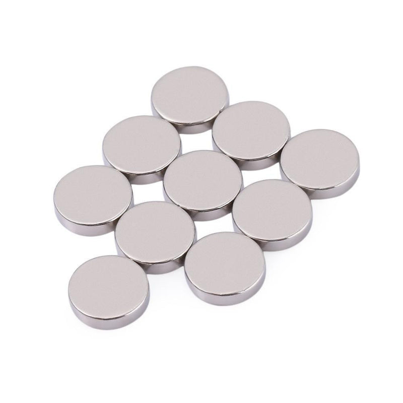 Strong 10pcs 12 x 3mm N35 Rare Earth Magnetic Disk Neodymium Magnet