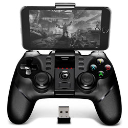 Original iPega Advance Bluetooth Gamepad with Bracket 2.4G Wireless Receiver Support (Android-PC-IOS-PS3) Special Edition Gamepad