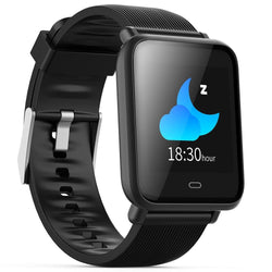 Smart Watch Blood Pressure Monitor Q9 Colorful Screen Waterproof Sports Smart Watch for Android / iOS with Heart Rate Monitor