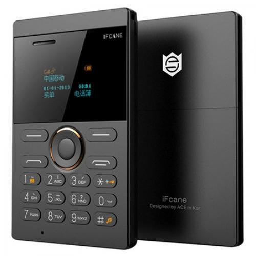 iFcane E1 GSM Phone Bluetooth-MP3-FM-Alarm ClocK-Slim Phone For India (Support 8 GB Memory card)