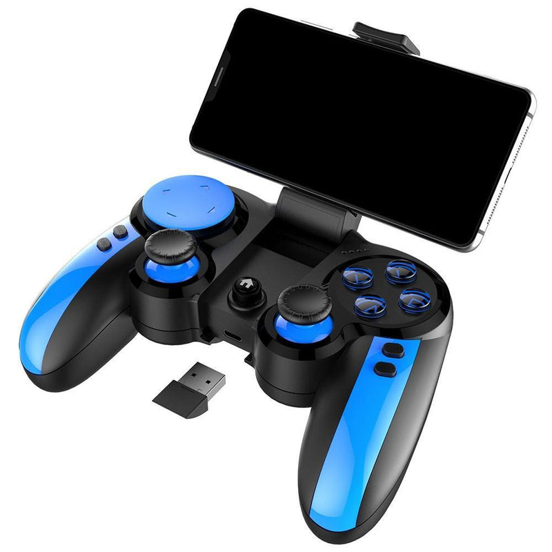 iPEGA Flexible Gamepad With Joystick Bluetooth 4.0-2.4GHz Receiver Gamepad Support Android & IOS Devices