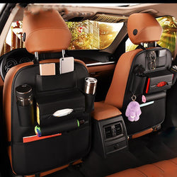 Premium Car Seat Back Travel Storage Bag Universal Organizer