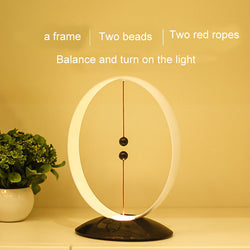 Magnetic Suspension Balance Lamp USB Charging LED Simple Smart Night Light