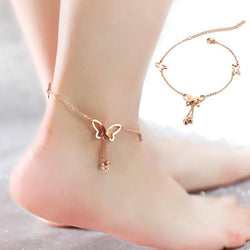 Aspire Butterfly Pendents Foot Chain Anklets Bracelets