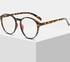 Retro Optical Clear Glasses Frame Men Women Vintage Round Eyeglasses