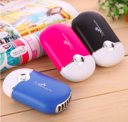 Portable Mini Pocket USB Fan Air Conditioning Fan Rechargeable Portable For Summer Rechargeable