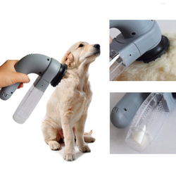 Portable Dog & Cat Pet Massage Cleaning Vacuum Comb Cleaner