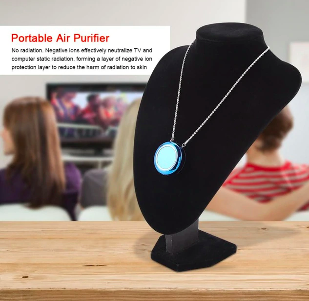 Air Purifier USB portable personal wearable Necklace Negative ionizer Air purifier Air cleaner Air Freshener