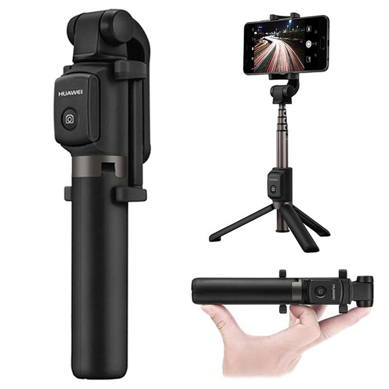 Advance HUAWEI Bluetooth Wireless Tripod Mount Holder Selfie Stick For Smartphones (Original) For India