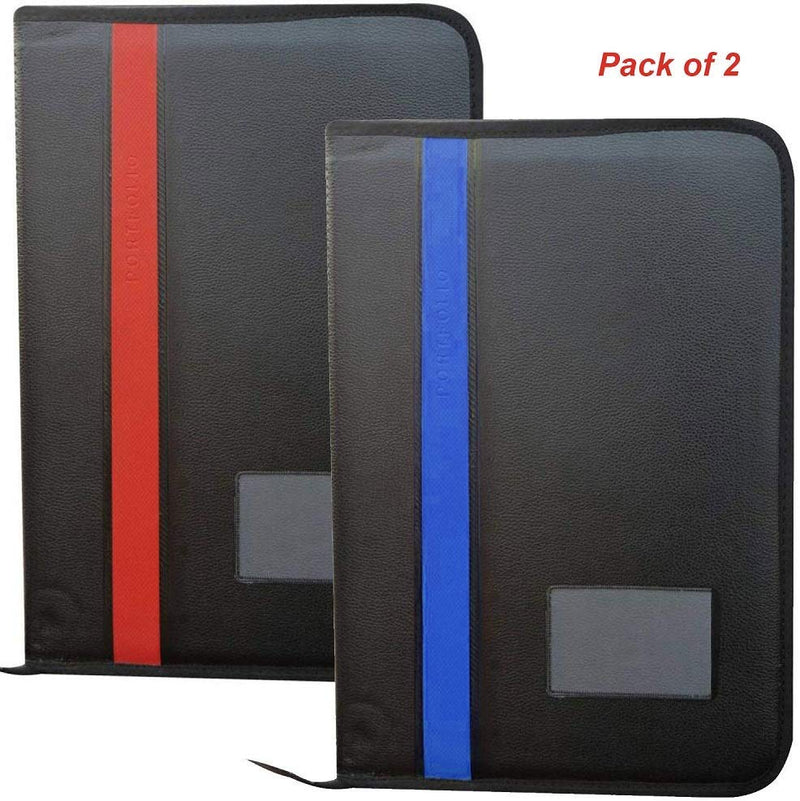 Pack of 2 Executive Files and Folders, Certificate, Documents Holder