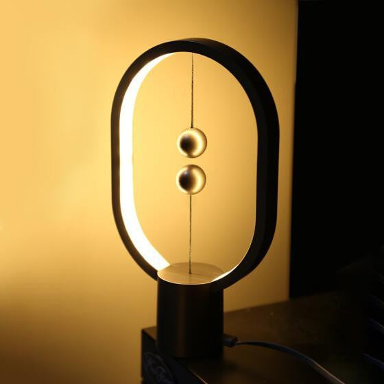 Small HENG Balance Lamp Creative Smart Magnetic Switch LED Table Light