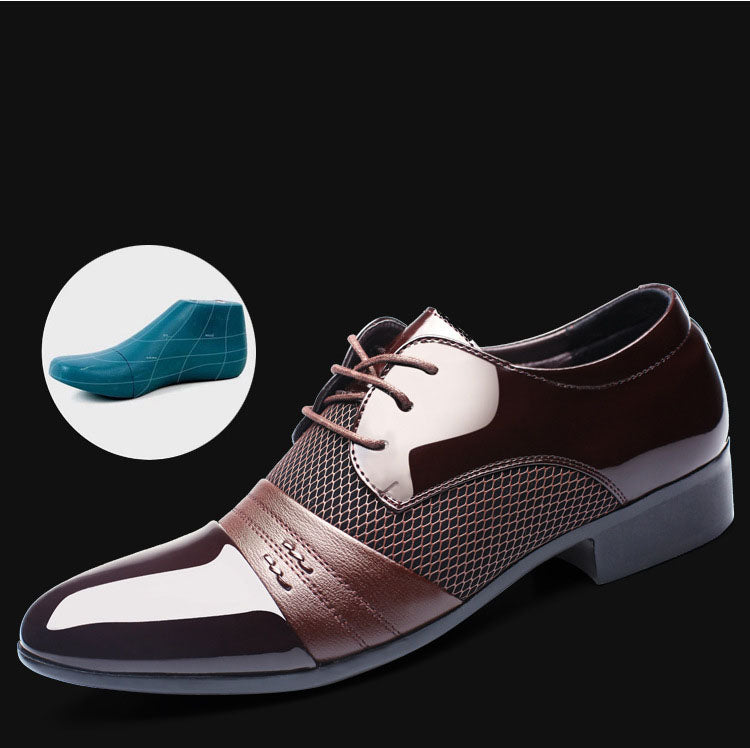 Flat business shoes