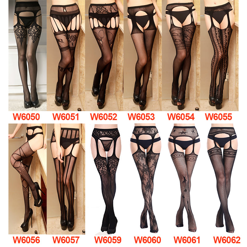 Sexy elastic stockings collection