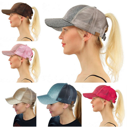 Ponytail snapback collection