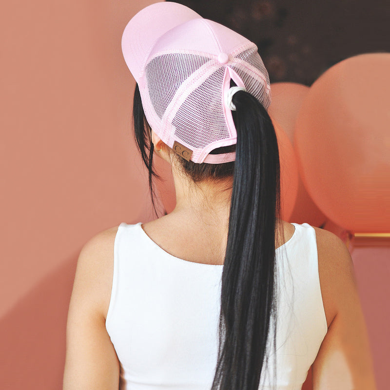 Ponytail cap collection