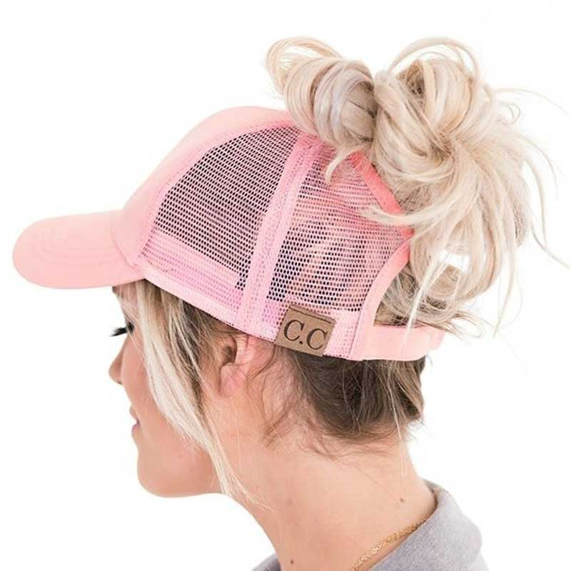 Women ponytail cap collection