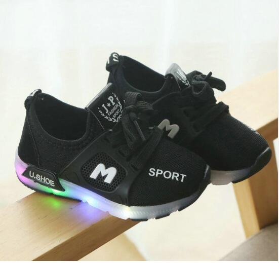 Children sneaker with LED collection