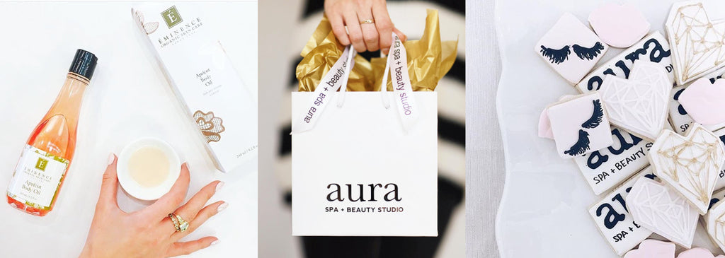Care & beauty are the focus of Aura and of the design Bella Vici created.