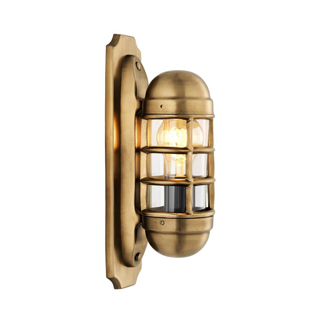 Caden Wall Sconce Brass