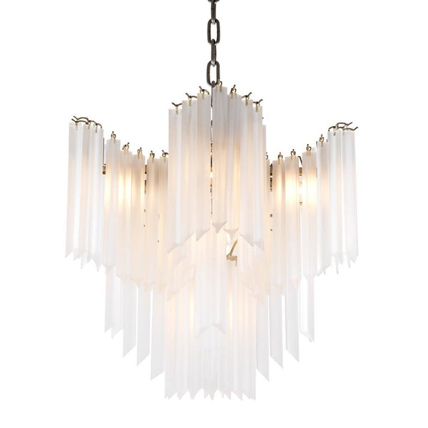 Mia Frosted Glass Chandelier