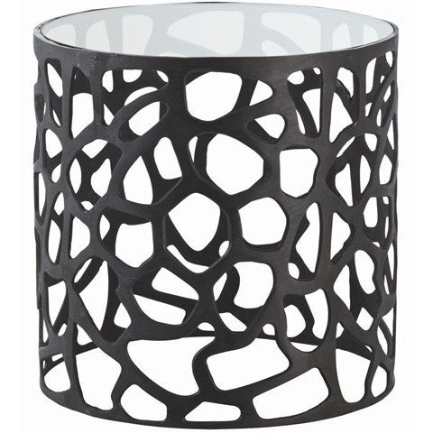modern end table, living room furniture, furniture, designer furniture, arteriors, caracole, restoration hardware