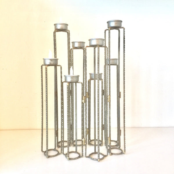 Metal Votive Candle Stand