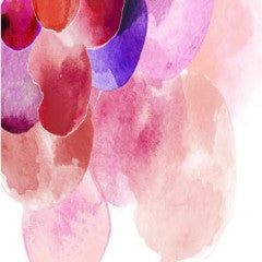 Berry Bloom Abstract Painting