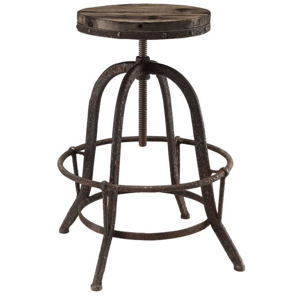 Collect Wood Top Barstool