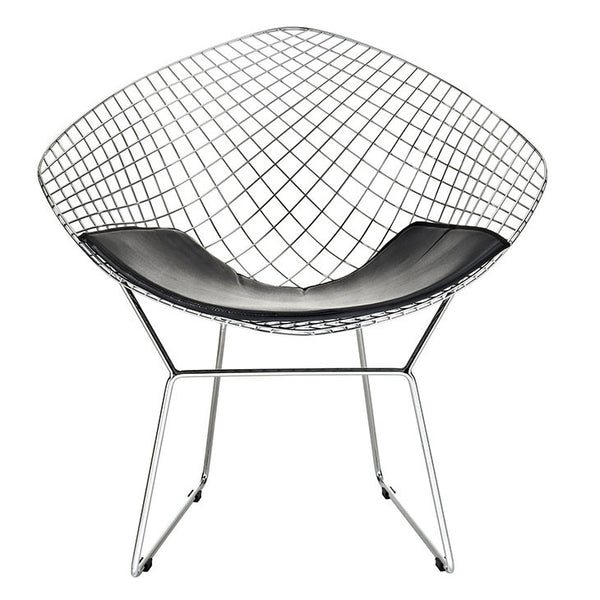 wire bertoia reproduction chair mid century modern lounger