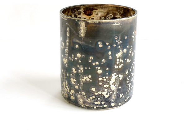 Silver Cherry Bark Votive