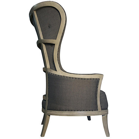 shopcandelabra, chair, deconstructed chair, wing back chair, restoration hardware chair, Ballard designs,