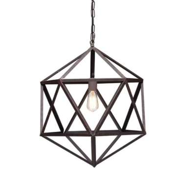 amethyst pendant light