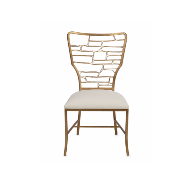 DESIGNER GOLD DINING CHAIR