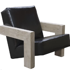 modern lounge chair, modern chair, contemporary chair, black leather chair, furniture, designer furniture