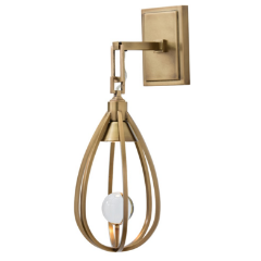gold sconce, becki owens, gold lighting