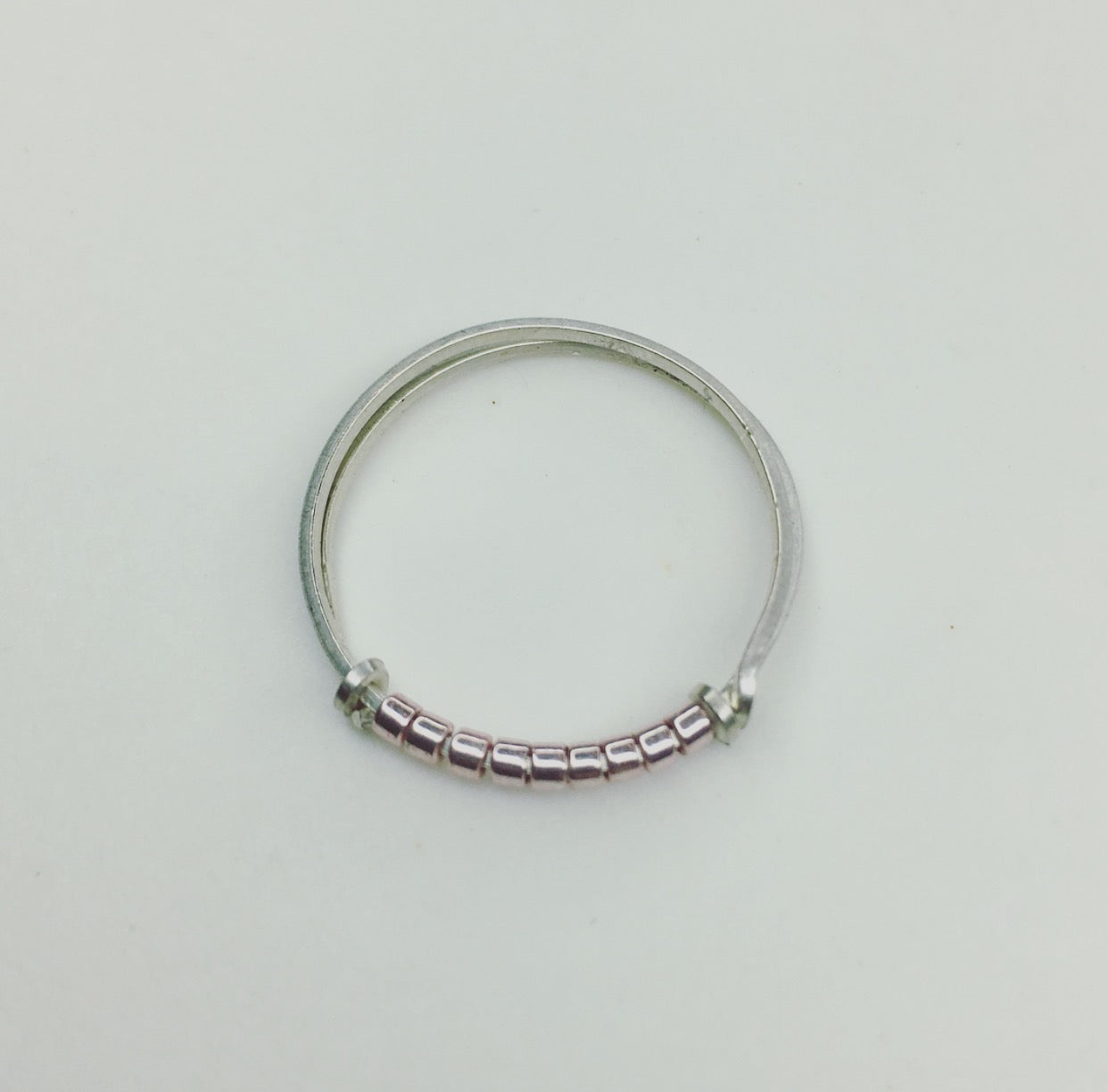 Sterling Silver, Sarah Briggs, local artist, shop local, metallic pink,